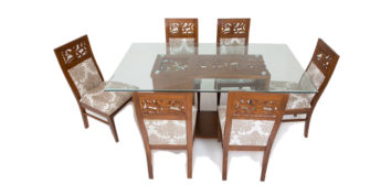 6 seater dining sets - Aquila 6 seater Dining | Looking Good Furniture