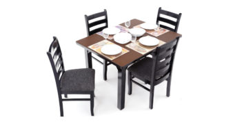 4 seater dining sets - Asio 4 seater Dining | Looking Good Furniture
