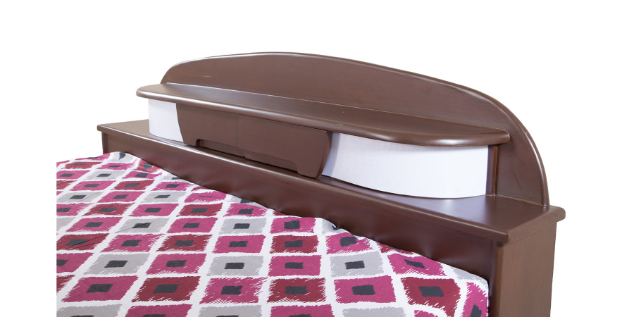 double bed - beds with storage - Bulb Bed | Looking Good Furniture