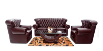 Leatherette sofas - Barrio Sofa Set 3+1+1 | Looking Good Furniture
