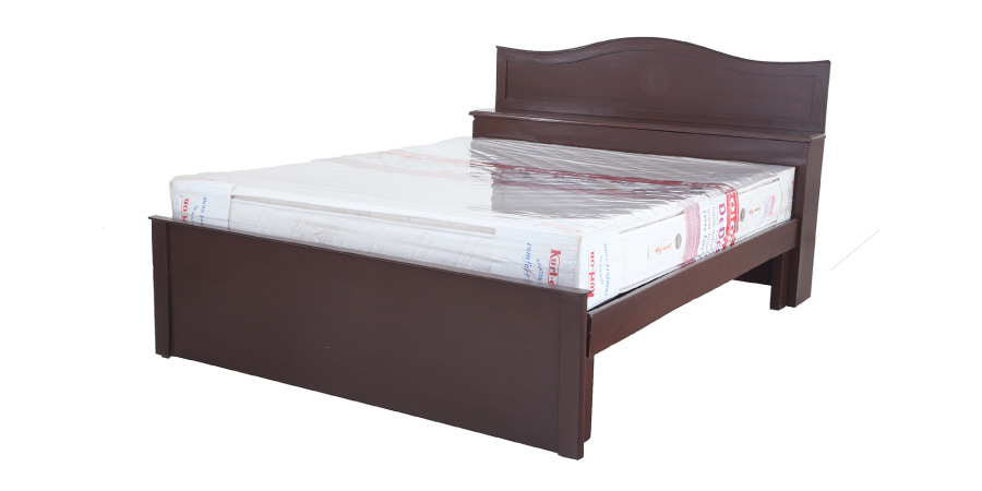 double bed - beds with storage - Chora Head Storage Bed | Looking Good Furniture