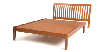 double bed - beds without storage - Conium Strip bed   Looking Good Furniture