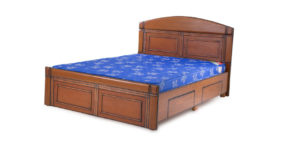 double bed - beds with storage - Crotalus Bed | Looking Good Furniture
