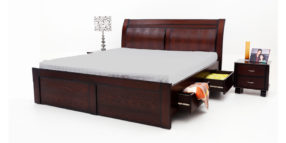 double bed - beds with storage - Fendi Bed | Looking Good Furniture