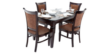 4 seater dining sets - Fulica 4 seater Dining | Looking Good Furniture