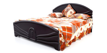 double bed - beds without storage - Helix bed | Looking Good Furniture