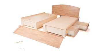 double bed - beds with storage - Kaleo Bed | Looking Good Furniture
