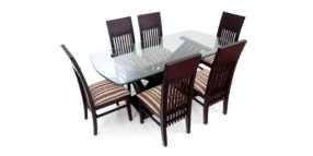 6 seater dining sets - Lunsar 6 seater Dining | Looking Good Furniture