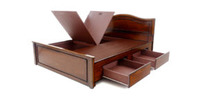 double bed - beds with storage - Musca Bed | Looking Good Furniture