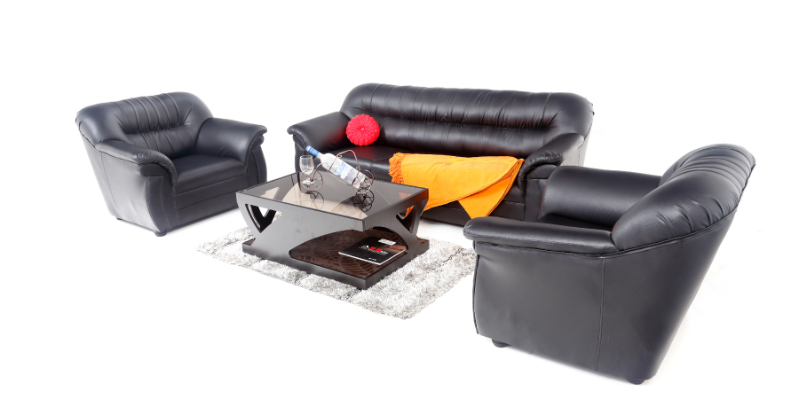 Leatherette sofas - Acchillea Sofa set 3+1+1 | Looking Good Furniture
