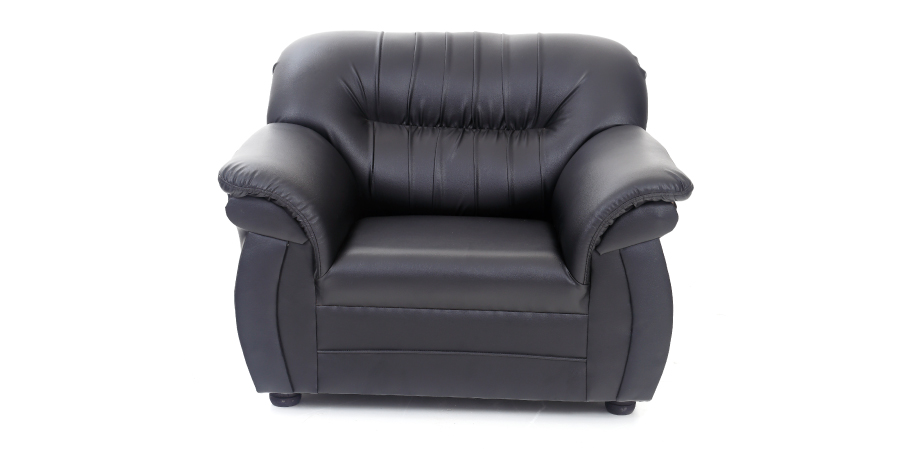 Leatherette sofas - Acchillea Sofa 1 Seater | Looking Good Furniture