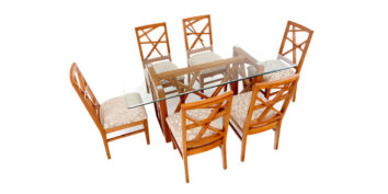 6 seater dining sets - Buteo 6 seater Dining | Looking Good Furniture