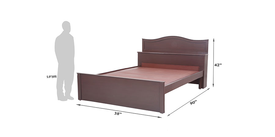 Beds - beds with storage - Chora head storage bed | Looking Good Furniture