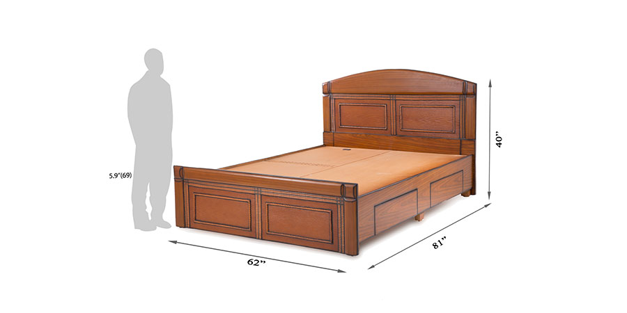 Beds - beds with storage - Crotalus bed | Looking Good Furniture