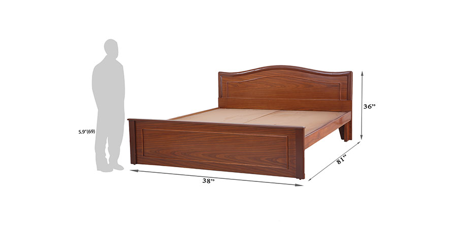 Beds - beds without storage - Indrani bed | Looking Good Furniture
