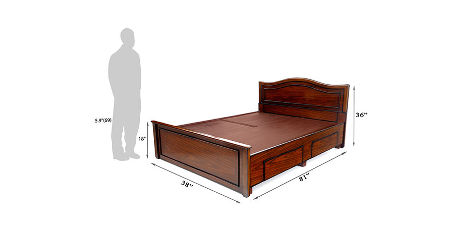 Beds - beds with storage - Musca bed | Looking Good Furniture