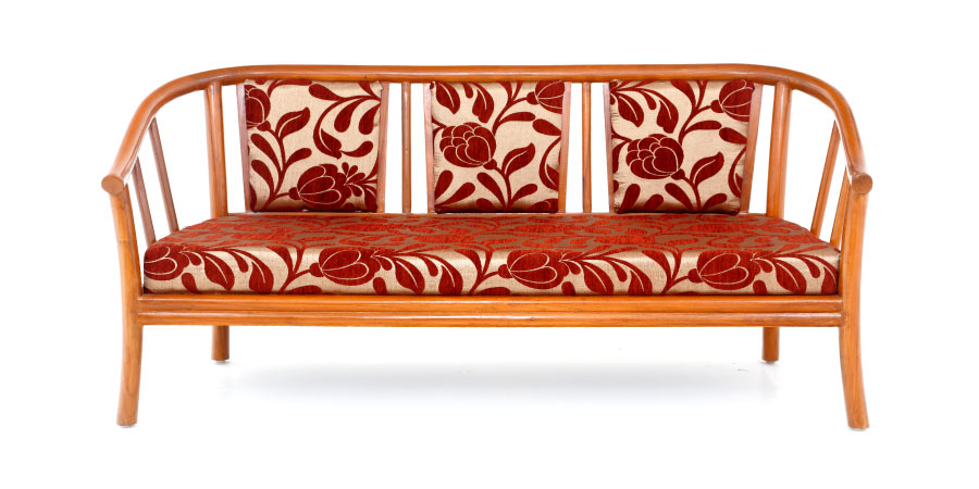 Wooden Sofa   Pipes Sofa 3 Seater | Looking Good Furniture