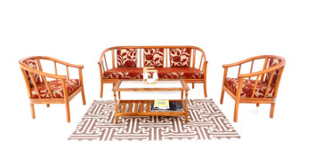Wooden Sofa - Pipes Sofa set 3+1+1+ table | Looking Good Furniture