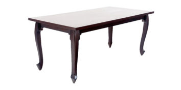 Dining Table - S Design 6 seater Dining Table | Looking Good Furniture