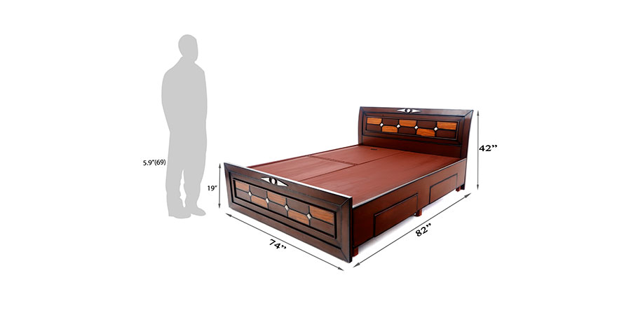Beds - beds with storage - Sieena bed | Looking Good Furniture
