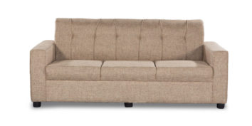 Fabric sofa sets - Afiffa Beige sofa 3 Seater | Looking Good Furniture