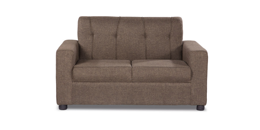 Fabric sofa sets - Afiffa Brown sofa 2 Seater | Looking Good Furniture