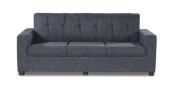 Fabric sofa sets - Afiffa Grey sofa 3 Seater | Looking Good Furniture
