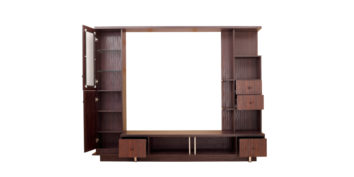 Storage - T V Units - Black Capped TV Unit | Looking Good Furniture