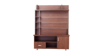Storage - T V Units - Brown Capped TV Unit | Looking Good Furniture