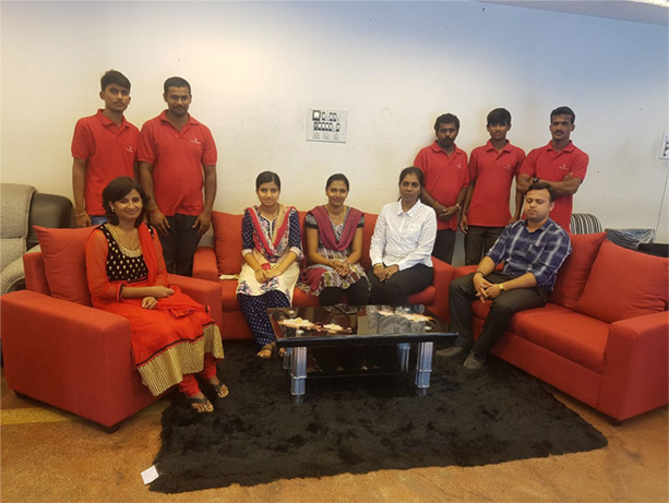 Banashankari showroom team