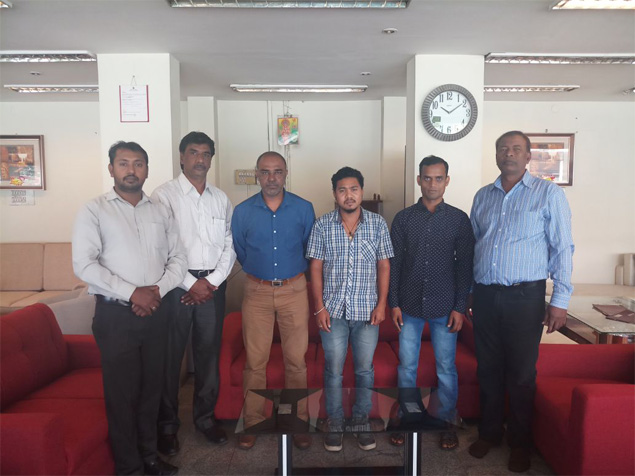 Banaswadi showroom team