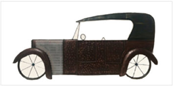 Decor - Wall Accessories - Retro Series - Car panel | Looking Good Furniture