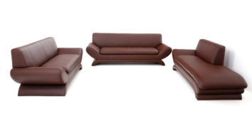 Leatherette sofas - Dracaena Sofa Set 3+2+D| Looking Good Furniture