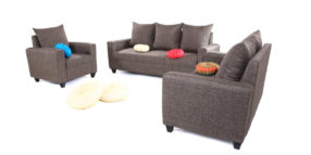 Fabric sofa sets - Keiko sofa Set 3+2+1   Looking Good Furniture