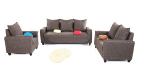 Fabric sofa sets - Keiko sofa Set 3+2+1 | Looking Good Furniture