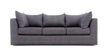 Fabric sofa sets - Linen Sofa 3 Seater | Looking Good Furniture