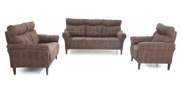 Fabric sofa sets - Sinapis Sofa Set 3+2+1 | Looking Good Furniture