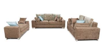 Fabric sofa sets - Cajanus Sofa Set 3+2+D | Looking Good Furniture