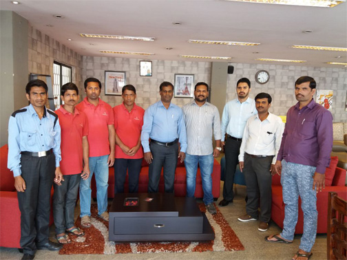 koramangala showroom team