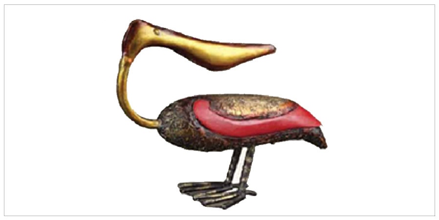 Decor - Utility Decor- Animal Artifacts - palican red | Looking Good Furniture