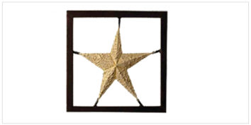 Decor - Wall Accessories - Frames - Star Frame | Looking Good Furniture