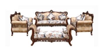 carving sofa - Ankara Sofa Set 3+2+2+Divan | Looking Good Furniture