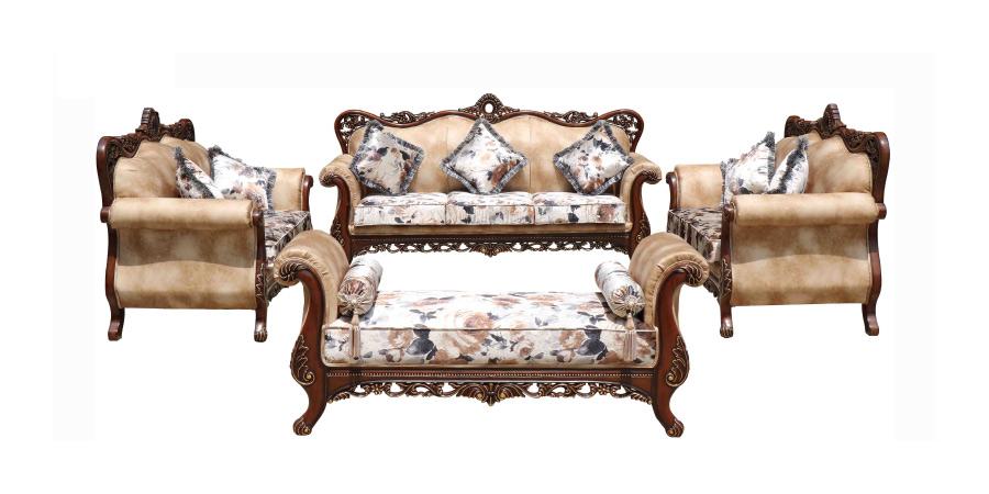 Charmant Carving Sofa   Ankara Sofa Set 3+2+2+Divan | Looking Good