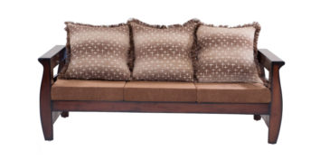 wooden sofa sets - Arachis Sofa 3 Seater | Looking Good Furniture