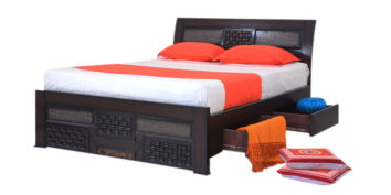 double bed - beds with storage - Berezi bed | Looking Good Furniture