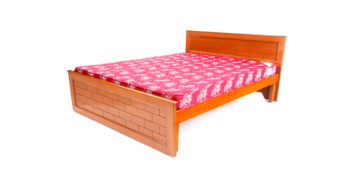 double bed - beds-without-storage - Brick bed | Looking Good Furniture