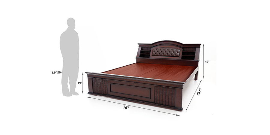 Beds - beds with storage - Capsul Head Storage bed | Looking Good Furniture