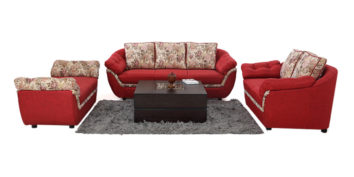 Fabric sofa sets - Erythrina Sofa Set 3+2+Divan | Looking Good Furniture