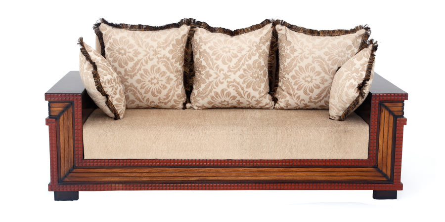 wooden sofa sets - Lepidium Sofa 3 Seater | Looking Good Furniture