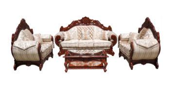 carving sofa - Motiwala Sofa Set 3+2+2 | Looking Good Furniture